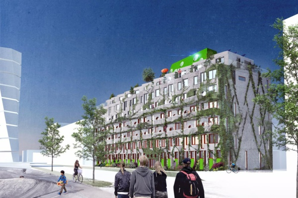 En Suède, le premier immeuble conçu pour une vie sans voiture