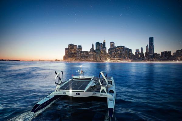 Un laboratoire énergétique flottant : le 1er catamaran à hydrogène va bientôt partir faire le tour du globe