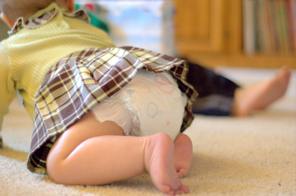 Des produits toxiques et cancérigènes dans les couches pour bébés