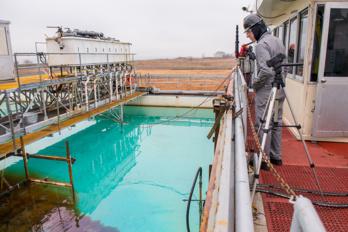 Oleo Sponge, l'éponge qui va nettoyer nos océans en absorbant les hydrocarbures