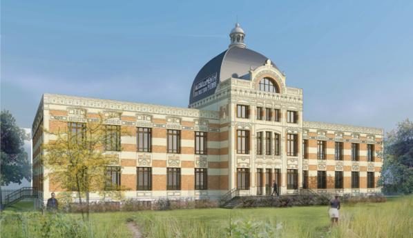 Ex-usine de dentifrice, le château de Nanterre devient un tiers-lieu dédié à l'alimentation