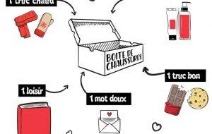 Fabriquez une box de Noël pour les personnes sans abri
