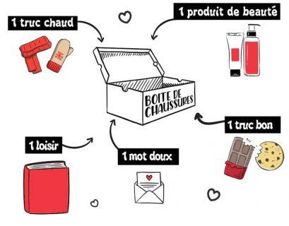 Fabriquez une box de Noël pour les personnes sans abris