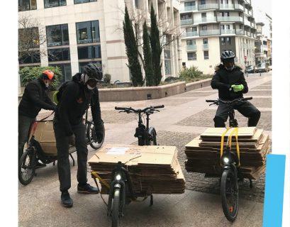Métier de demain : collectrice de matériaux revalorisables à vélo