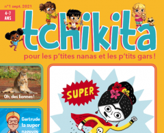 Tchikita, le premier magazine pour enfant anti-stéréotypes de genre