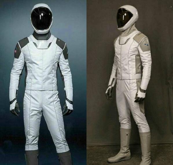 Elon Musk dévoile la combinaison que porteront les astronautes de SpaceX