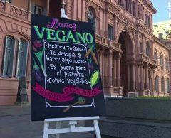 """En Argentine, pays de la viande, le palais présidentiel instaure les """"lundis vegan"""""""