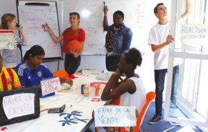 En lançant leur coopérative éphémère, ces jeunes créent leur propre job d'été