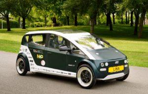 Aux Pays-Bas, des étudiants inventent une voiture électrique biodégradable