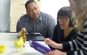 Je vous écris du Mindlab de Wellington, où les enseignants repartent à l'école