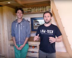 Tiny house 100 % low-tech : la conservation des aliments