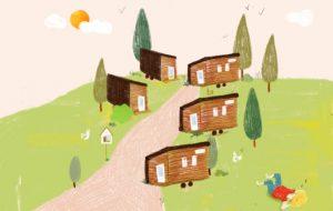 À la rentrée, emménagez dans le premier village de tiny houses français
