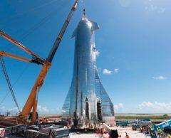 Starship : Elon Musk dévoile le prototype de son vaisseau spatial