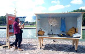 Visite guidée : une maison design et 100 % recyclée
