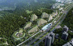 En Chine, ce projet immobilier veut réconcilier la ville avec la forêt