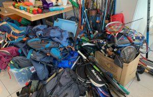 Cette recyclerie répare et revend des affaires de sport à petits prix