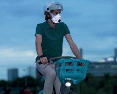 Ce masque pour cyclistes filtre les particules fines