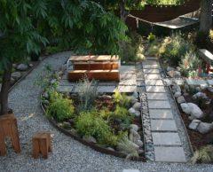 Un jardin de pluie pour prévenir les inondations