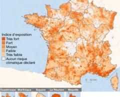6 Français sur 10 sont menacés par le réchauffement climatique