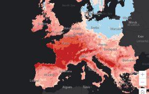 Réchauffement climatique : des cartes choc sur les risques en Europe