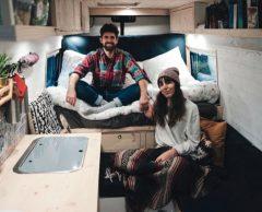 Nouveaux nomades : Pierre-François et Lucile ont choisi la vie en van