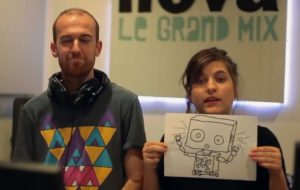Un robot animateur bientôt sur Radio Nova ?