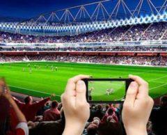 Dans les stades 2.0, le foot se vit comme à la maison