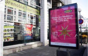 Interdiction des panneaux publicitaires à Grenoble : une première européenne