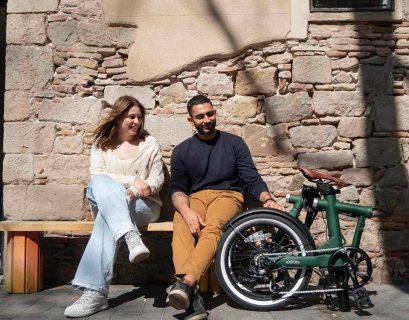 vélo électrique qui se transforme en vélo d'appartement