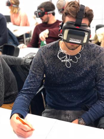 Réalité virtuelle : l'école du futur existe déjà en France