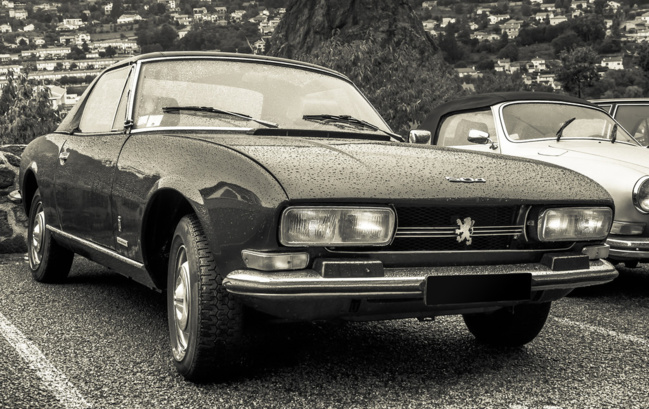 Peugeot dévoile une version électrique et autonome de sa mythique 504