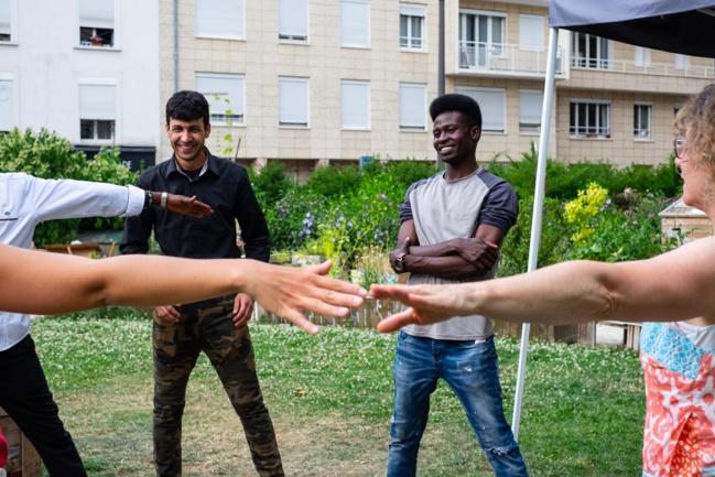 Réfugié, et après ? Ce photographe a suivi la vie culturelle de primo-arrivants