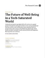 Une approche plus contrastée du bien-être futur dans un monde saturé de technologies