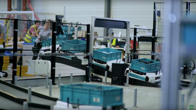 E-commerce : ce robot réduit la pénibilité du travail dans les entrepôts