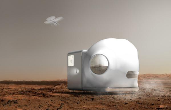 tiny house sur Mars