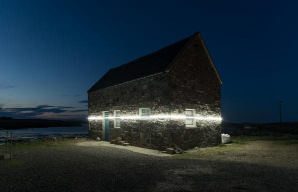 En Écosse, la montée des océans mise en lumière par des artistes