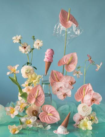 Quand le design devient floral