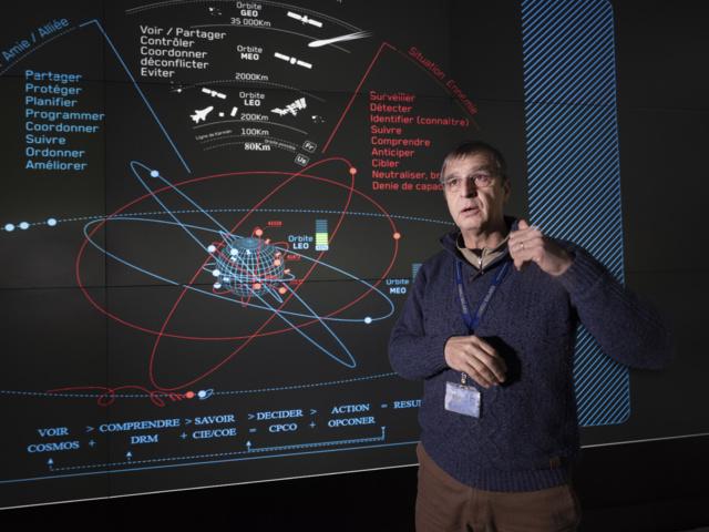Portfolio : Visite privée du Commandement interarmées de l'espace