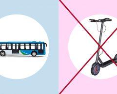 Quiz carbone : Bus ou trottinette électrique ?