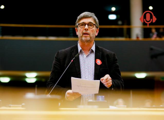 Damien Carême appelle à une révolution écologique et sociale pour sortir de la crise du coronavirus. (Crédit : EP _ Mathieu Cugnot)