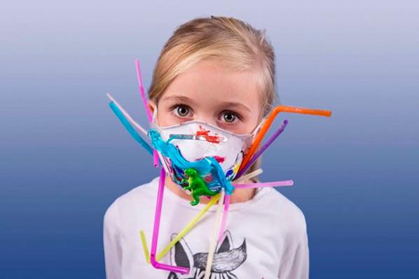 Coronavirus : quand les masques deviennent des oeuvres d'art