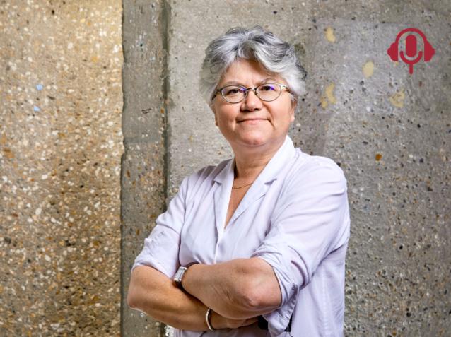 Pour la sociologue Dominique Meda, la crise sanitaire démontre la nécessité de revoir la grille des salaires. (Crédit : © Bruno Levy/Divergence)