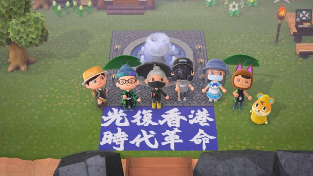 Animal Crossing, nouveau foyer (mignon) de la contestation