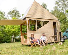 Une caravane-tiny house pour voyager en toute liberté