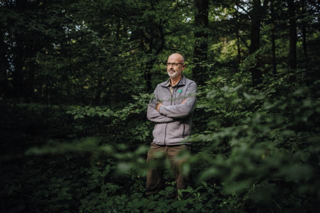 """Peter Wohlleben auteur de """"La vie secrète des arbres""""."""