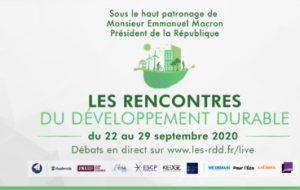 Les Rencontres du Développement Durable, nouveau rendez-vous pour penser le monde de 2030