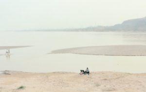 Les images saisissantes de l'agonie du fleuve Jaune