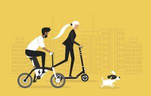 Une solution de recyclage pour les batteries de vélos et trottinettes