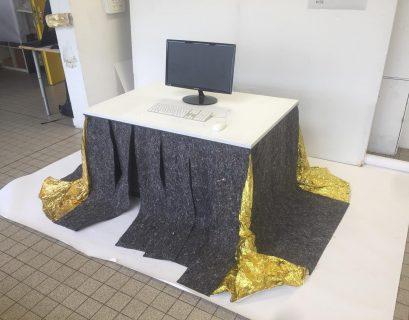 Voici un exemple de Kotatsu contemporain.