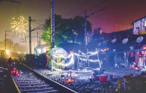 Portfolio : Diwali, la fête de la lumière indienne avant Covid